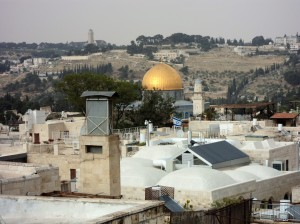Dome of Rock and Mount of Olives
